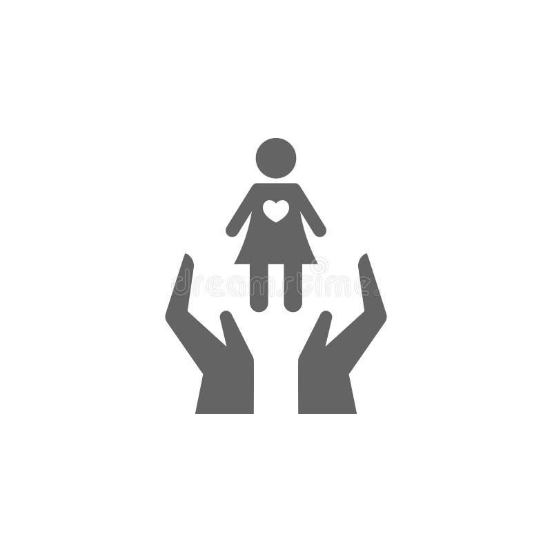Seguros, vida, personal, ícono de sí mismo Elemento del icono de seguro Icono de diseño gráfico de primera calidad Colección de s libre illustration