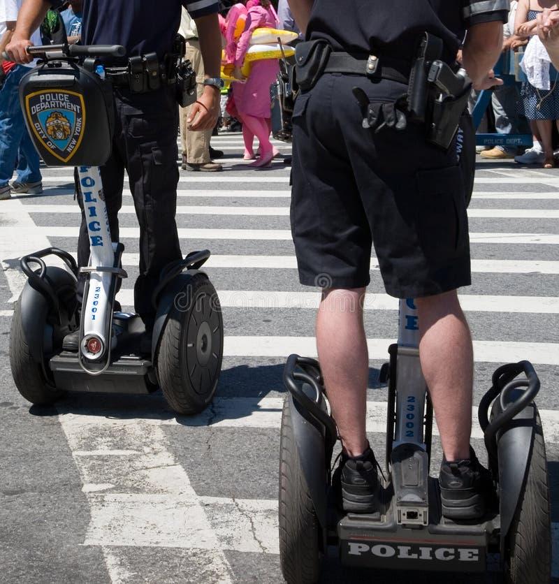 segway的警察 库存照片