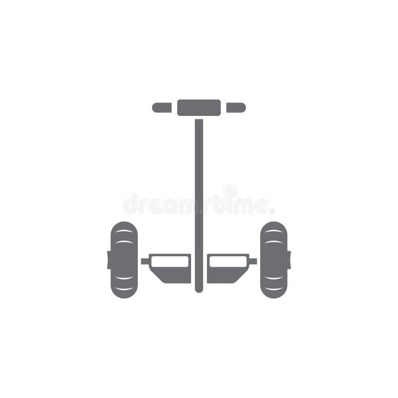 Segway象 简单的元素例证 Segway从运输汇集集合的标志设计 能为网和机动性使用 库存例证