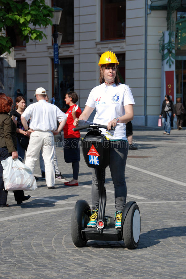 Download Segway editorial stock image. Image of personal, city - 19577694