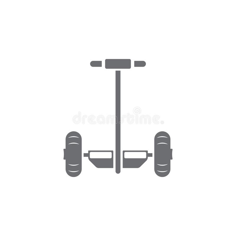 Segway icon. Simple element illustration. Segway symbol design from Transport collection set. Can be used for web and mobile stock illustration