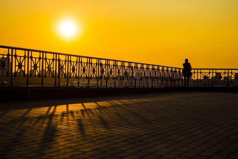 Sehen der Sonne lizenzfreie stockbilder