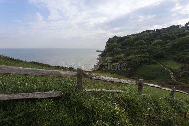 Sehen Sie heraus in Richtung zum Meer vom Osthügel-Nationalpark an lizenzfreies stockfoto