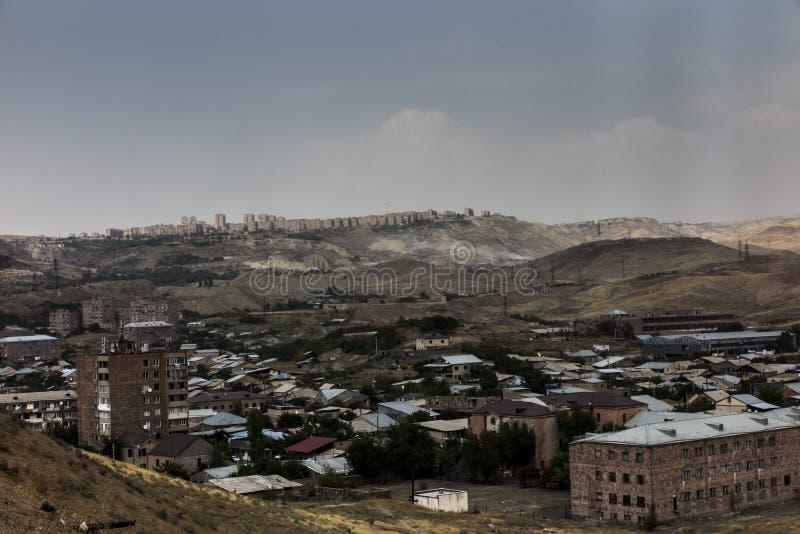 Sehen Sie Peripherie Von Eriwan Die Hauptstadt Von Armenien An Stockbild Bild Von Armenien Sehen 113673781
