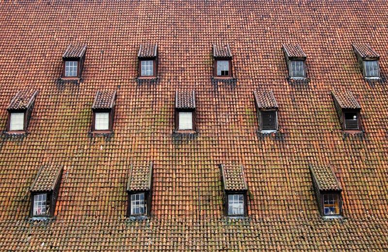 Sehr Außerordentliches Dach Stockfotografie