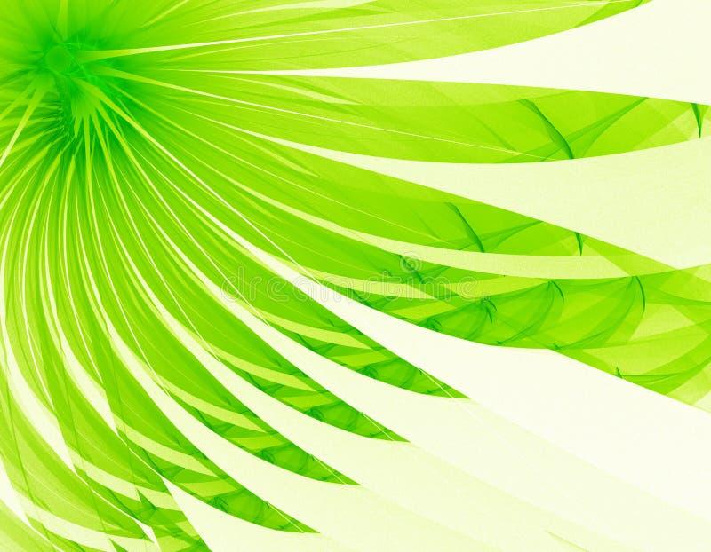 Sehr nette grüne Blume lizenzfreie abbildung