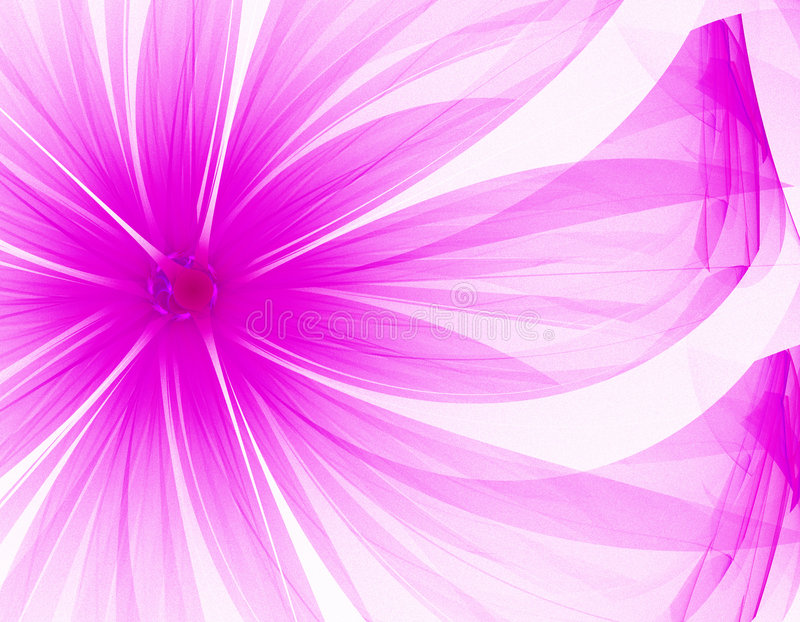 Sehr nette purpurrote Blume stock abbildung