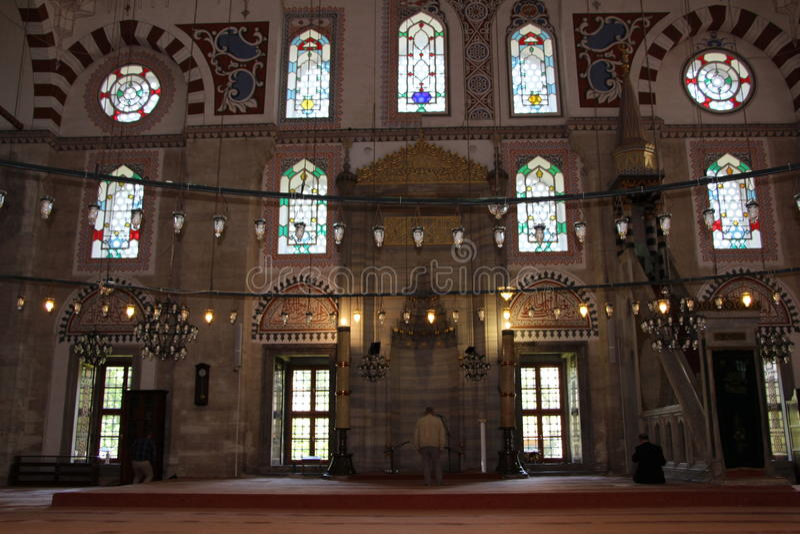 Sehzade清真寺和坟茔,伊斯坦布尔,土耳其 免版税图库摄影