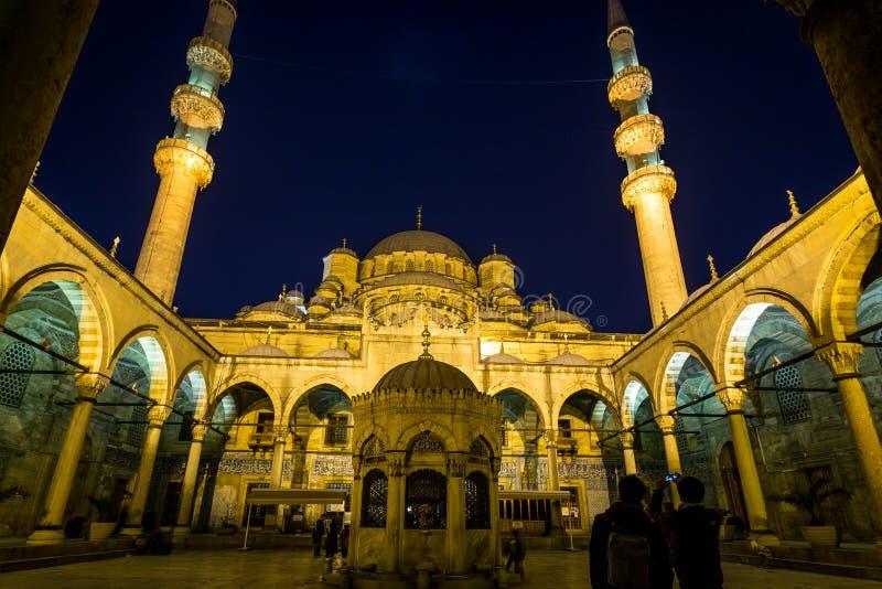 Sehzade穆罕默德清真寺 库存图片