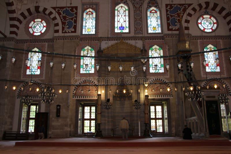 Sehzademoskee en Graf, Istanboel, Turkije royalty-vrije stock fotografie