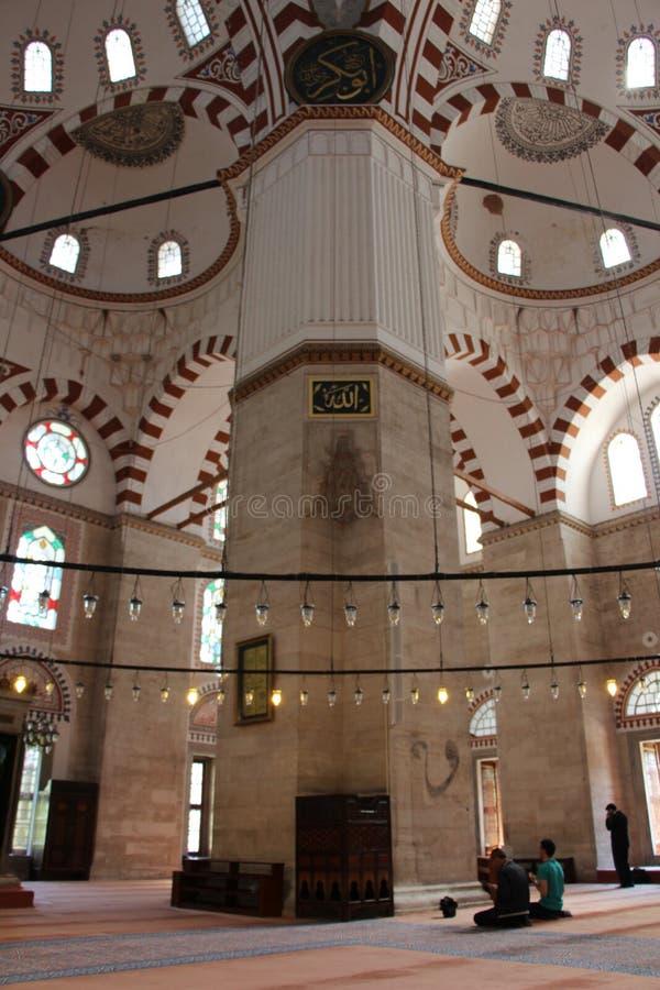 Sehzademoskee en Graf, Istanboel, Turkije stock fotografie