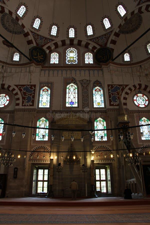Sehzademoskee en Graf, Istanboel, Turkije stock afbeeldingen