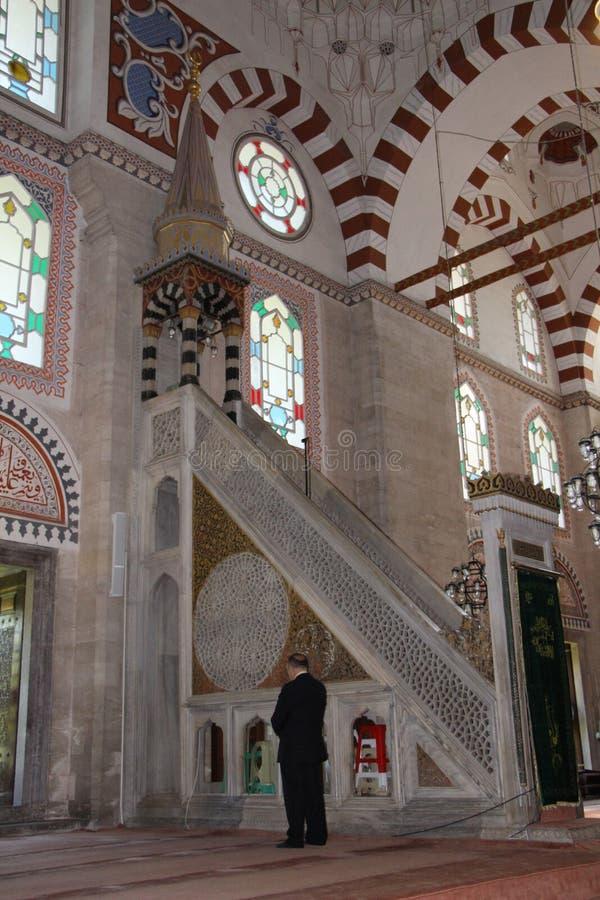 Sehzademoskee en Graf, Istanboel, Turkije stock afbeelding