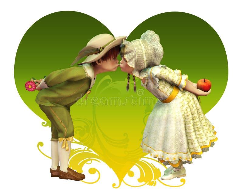 Seien Sie mein Valentinsgruß lizenzfreie abbildung
