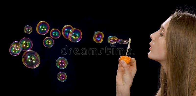 Seife-Luftblasen stockbilder