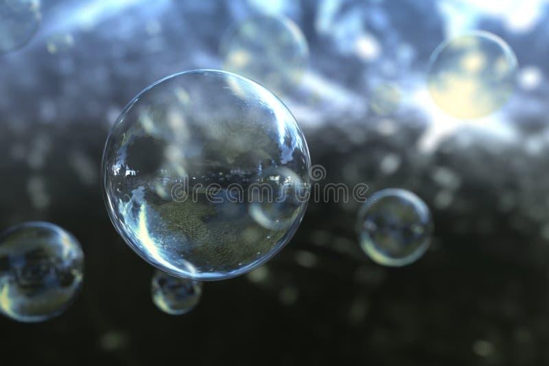 Seifenblasen vektor abbildung