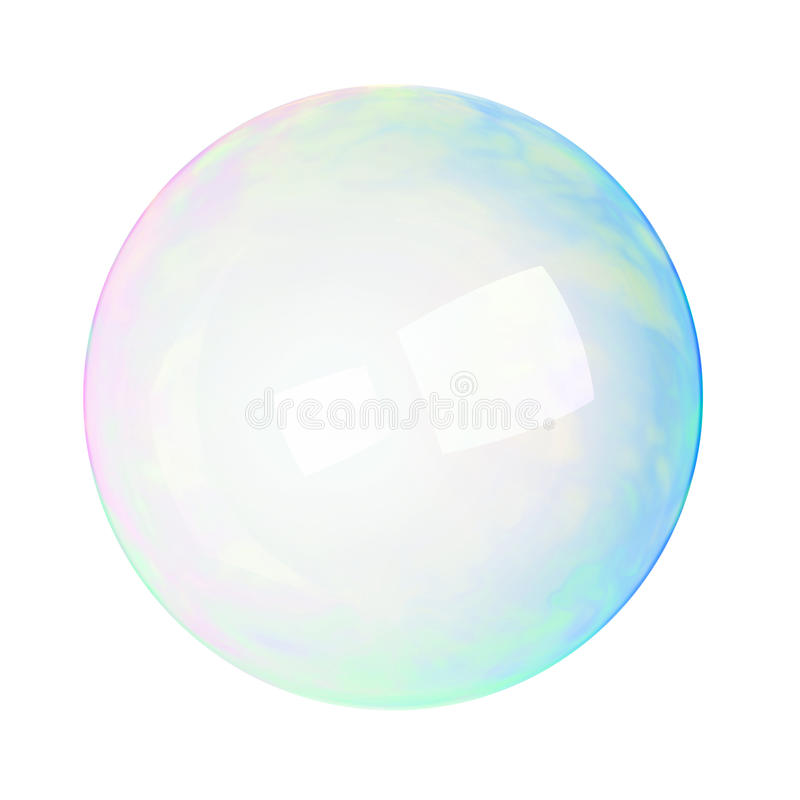 Seifenluftblase stock abbildung