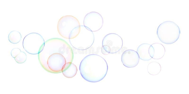 Seifenluftblasen lizenzfreie stockfotos