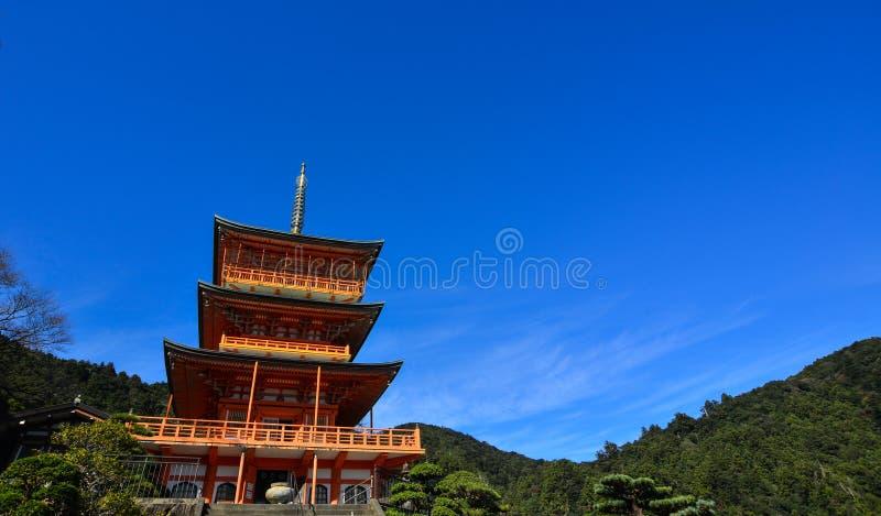 Seigantoji塔在Nachi,日本 库存照片