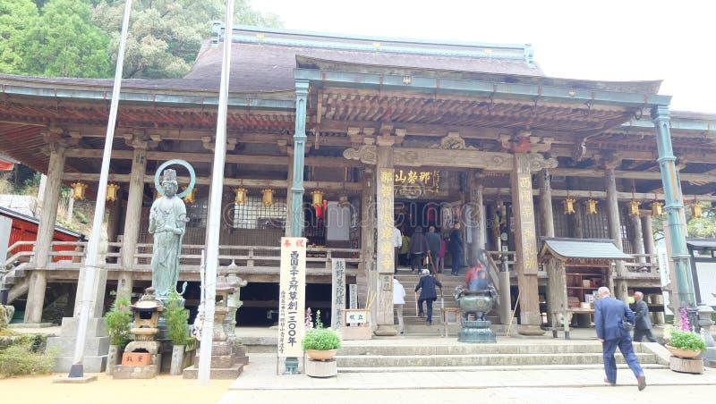 Seigantoji tempel Hondo fotografering för bildbyråer