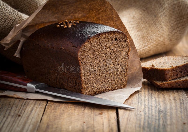 Seigle de pain photo stock