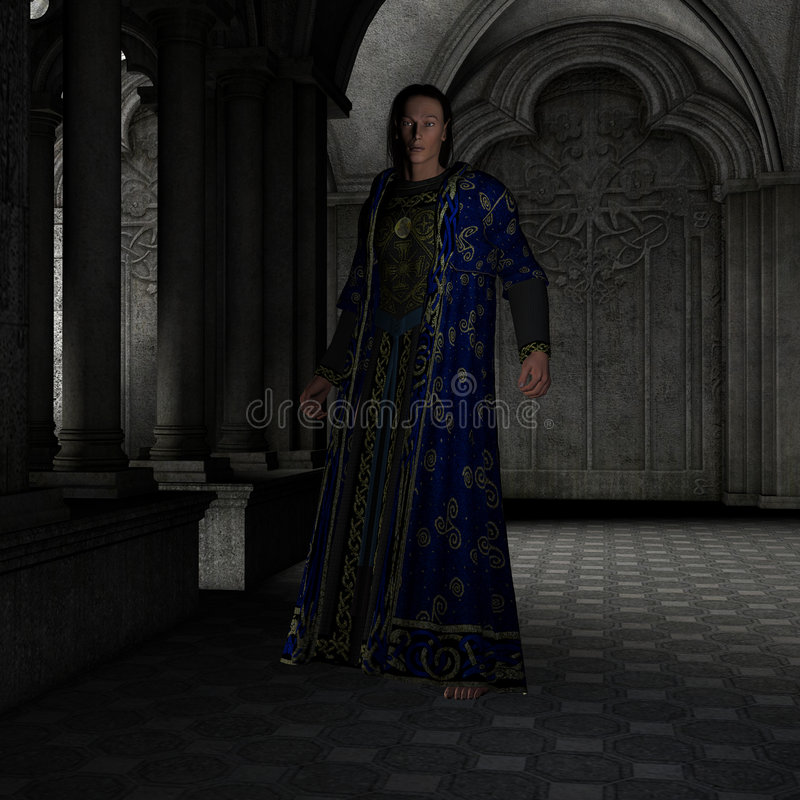 Seigneur d'elfe illustration de vecteur