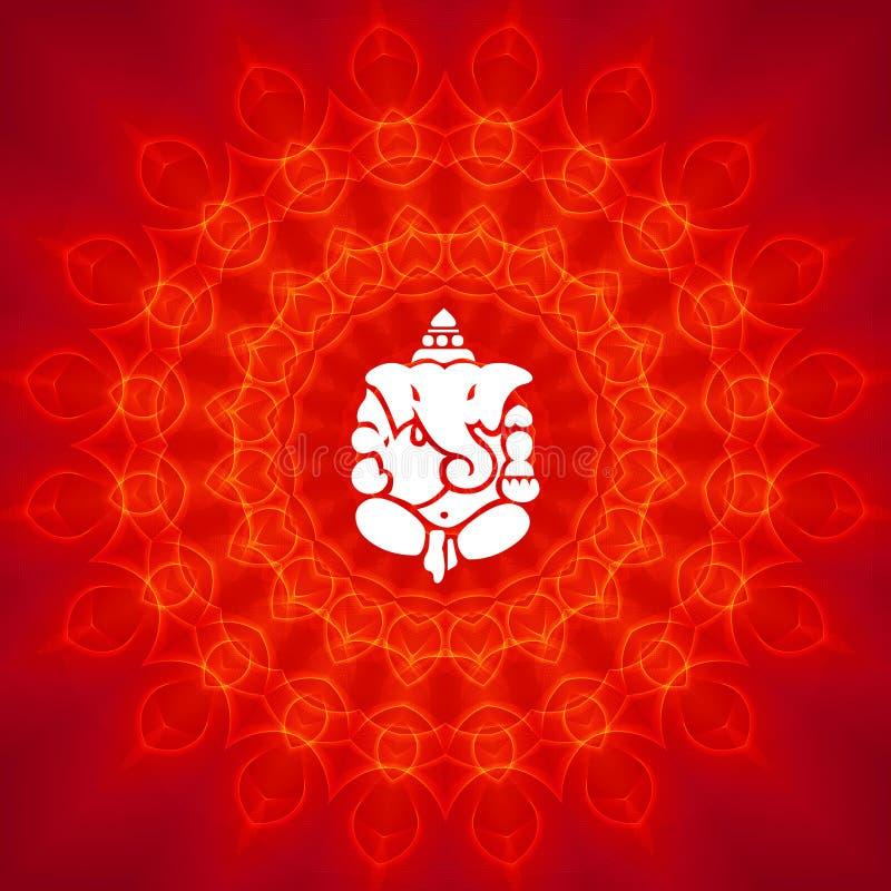 Seigneur Ganesha illustration stock