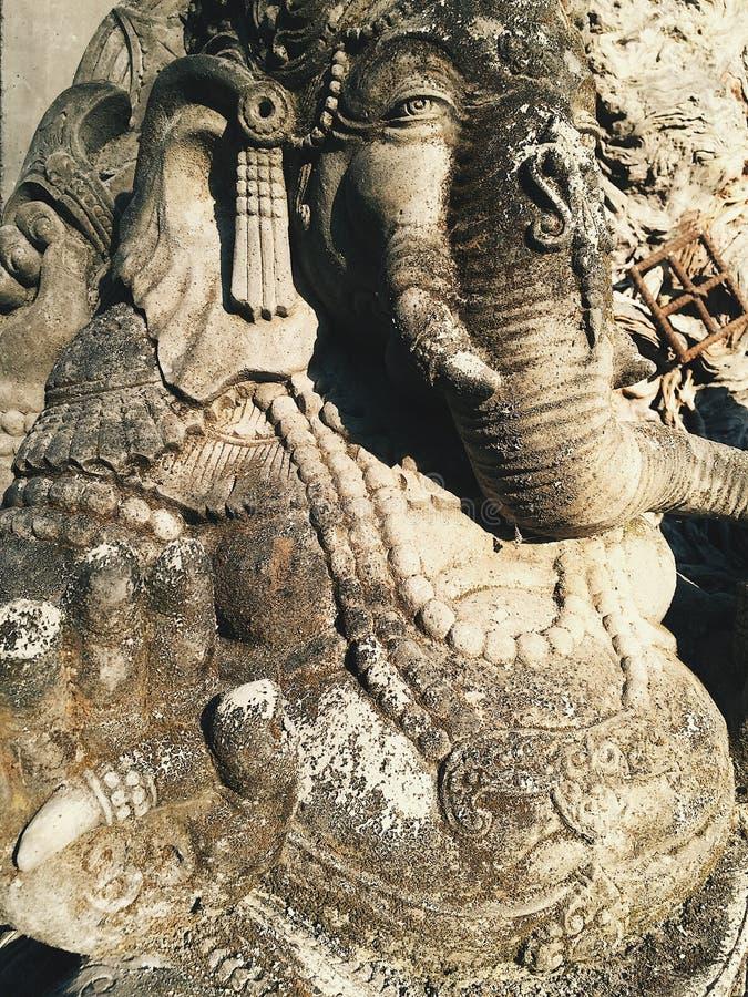 Seigneur indou de Ganesha de Dieu de succès et d'harmonie de sagesse photos libres de droits