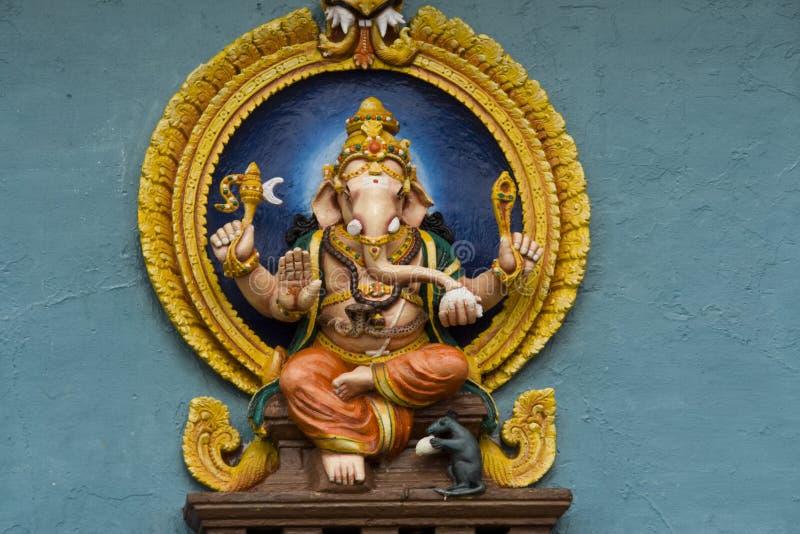 Seigneur s'asseyant Ganesha photo stock