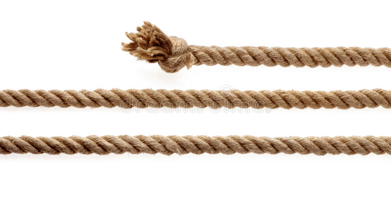 Seil lizenzfreies stockbild