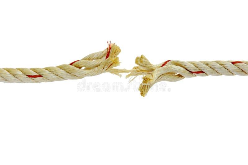 Seil ist fast abwesend lizenzfreie stockfotos