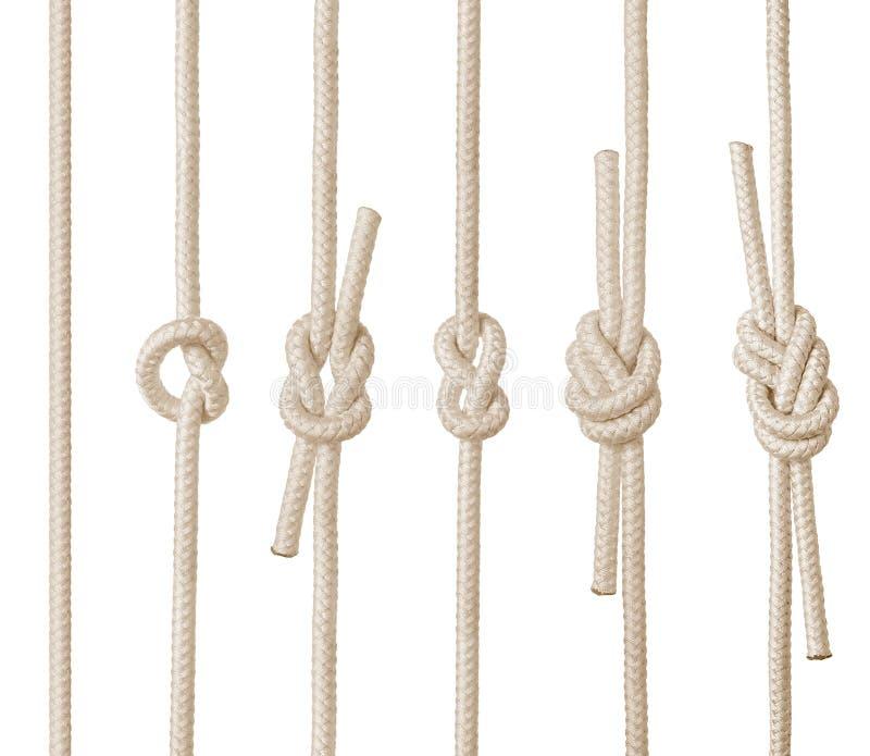 Seil-Knoten lizenzfreie abbildung