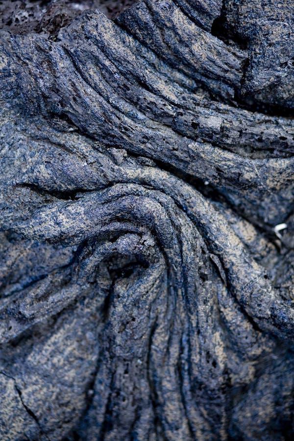 Seil-Lava 9837 stockfoto