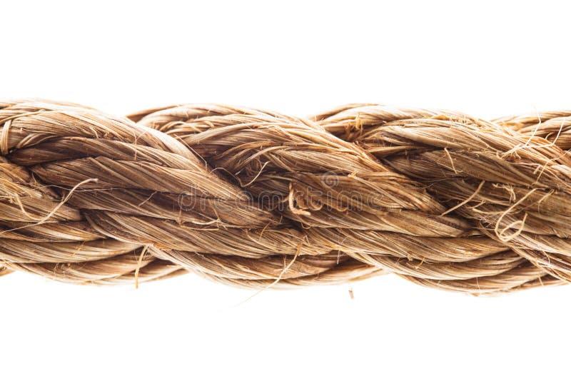 Seil lokalisiert lizenzfreies stockfoto