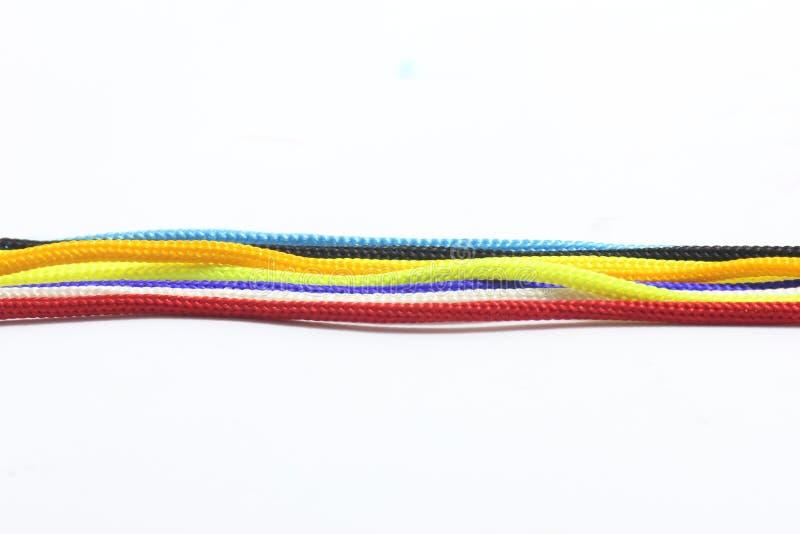 Seil oder Knoten lizenzfreie stockfotografie