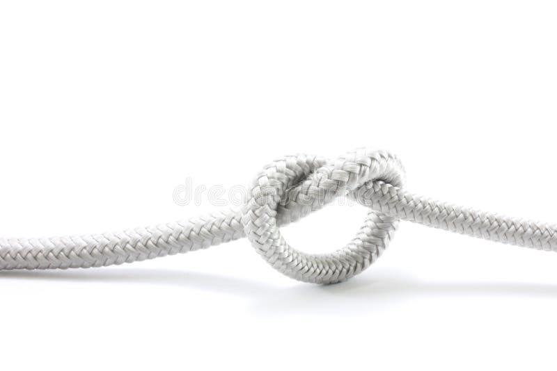 Seil oder Knoten stockbild