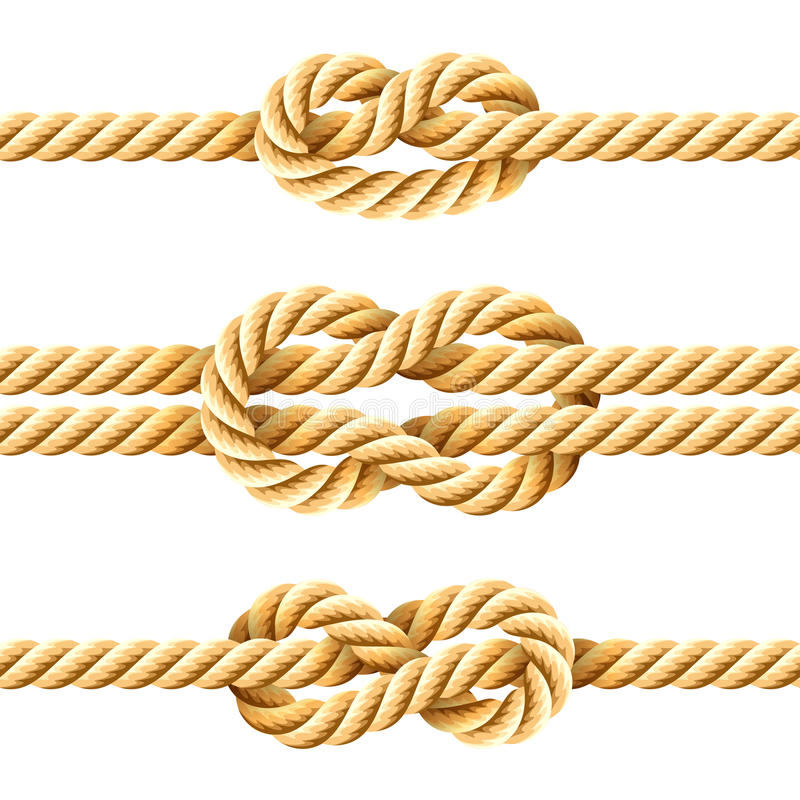 Seilknoten lizenzfreie abbildung
