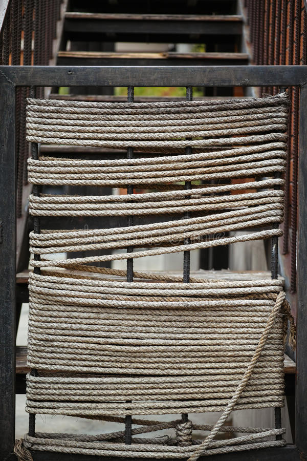Seilmuster stockbilder
