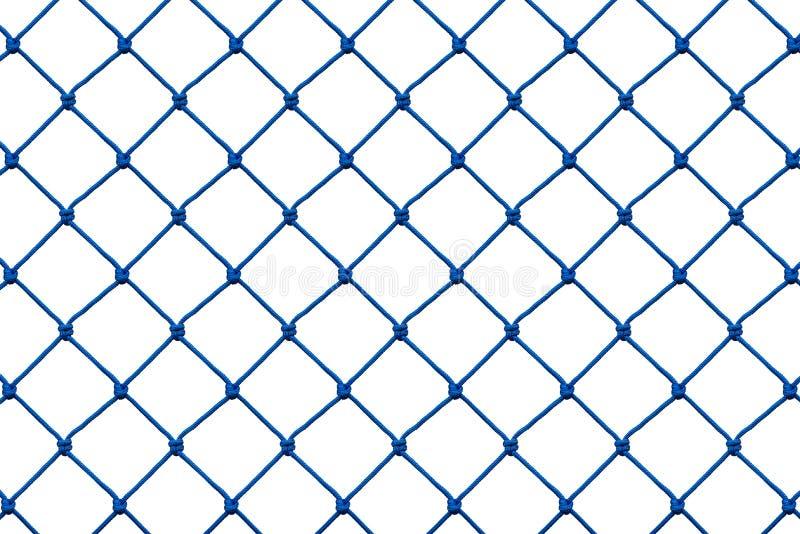 Seilnetz lokalisiert auf Weiß stock abbildung