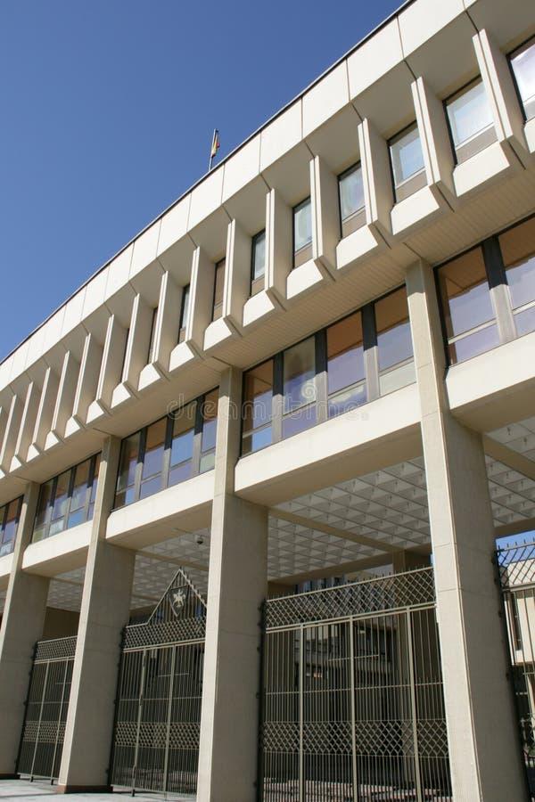Seimas em Vilnius, Lithuania fotografia de stock