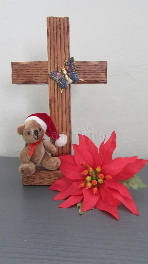 Sein das Kreuz stockfotografie