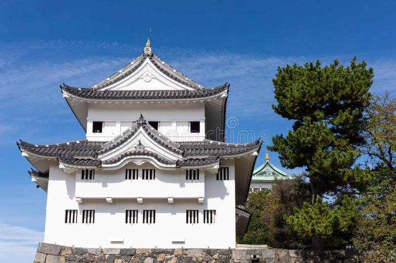 Seinan-sumi Yagura, Southwest Corner Watchtower at Nagoya Castle. Japan stock photography