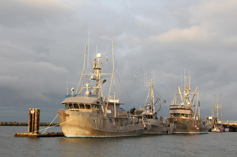 Download Seine Fish Boats Wait stock image. Image of rural, nautical - 13428321