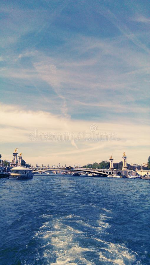 Seine stock photo