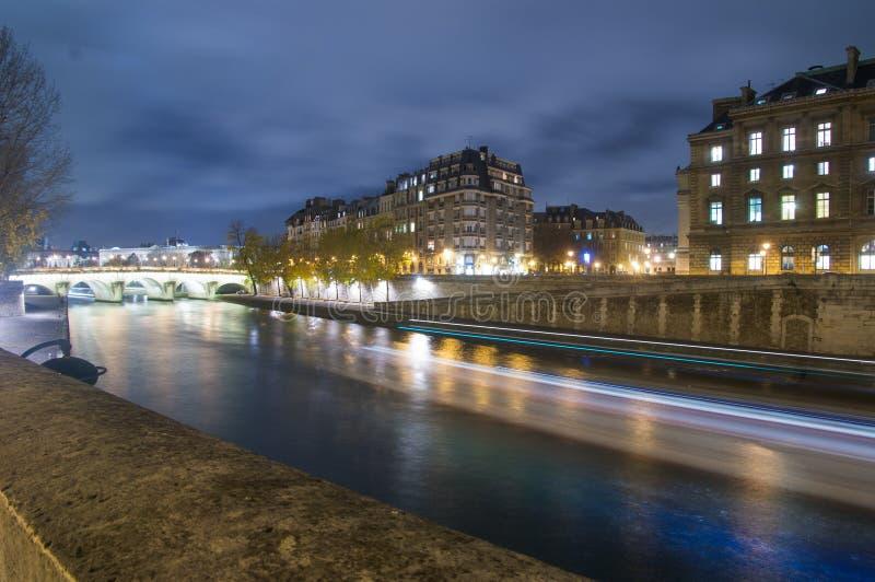 Seine,Paris,France stock images