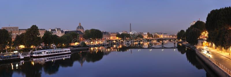 Seine and Pont des Arts