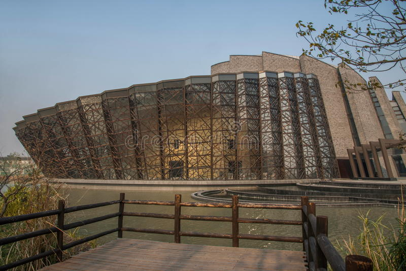 ----- Seis ciudades meridionales de teatro de Wuzhen imagenes de archivo