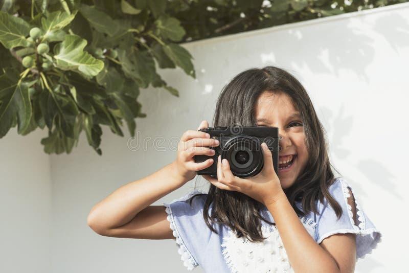 Seis fotos años de la muchacha imagenes de archivo