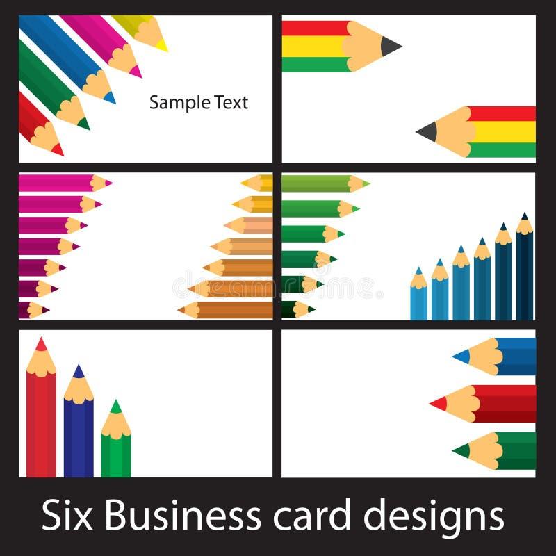 Download Projetos Coloridos Do Lápis Ilustração do Vetor - Ilustração de moderno, conceito: 29831110