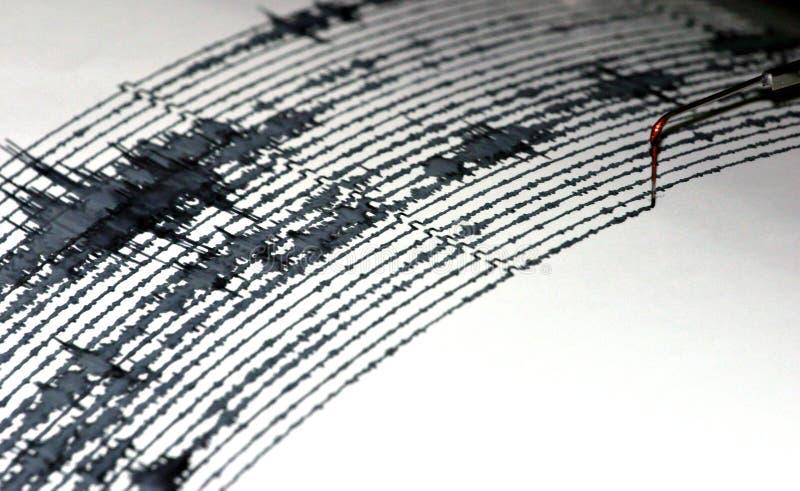 seismogram στοκ εικόνες
